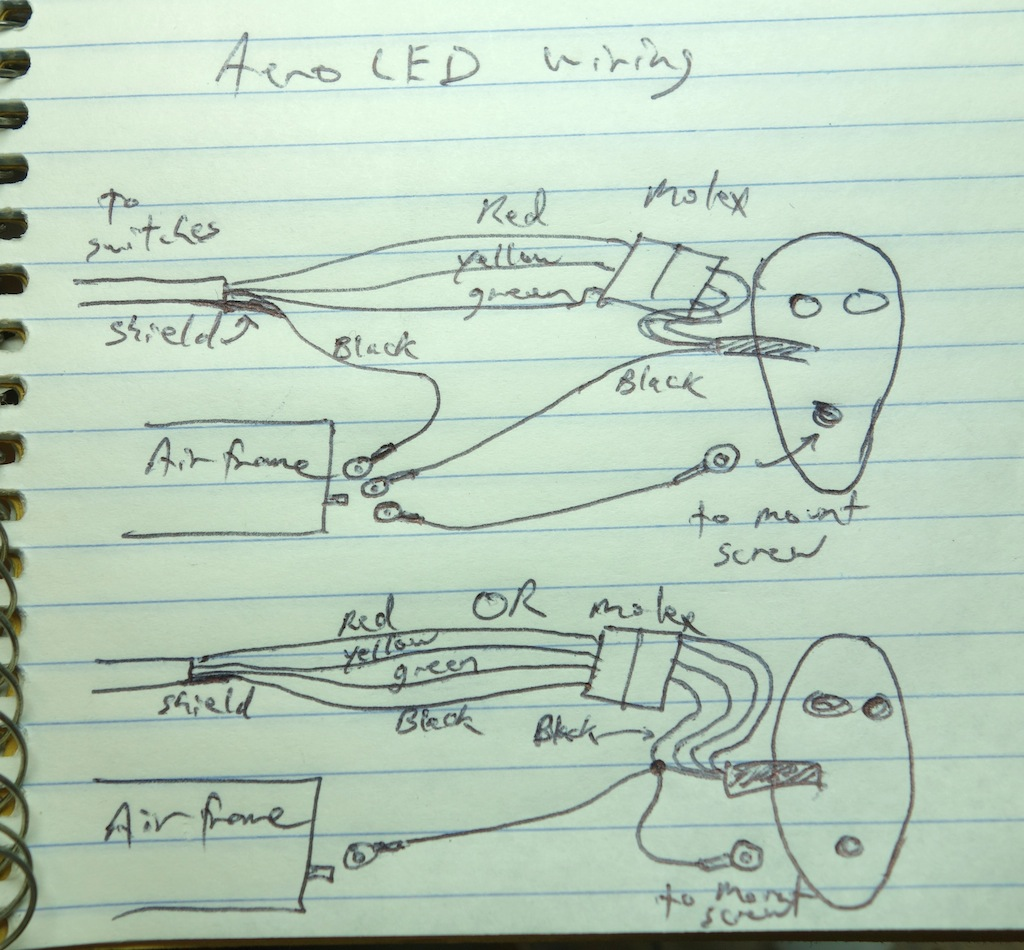 Aeroleds Grounding Am I Over Thinking This Archive Vaf Forums For Strobes Along With Whelen Light Wiring Diagram Further Led Strobe